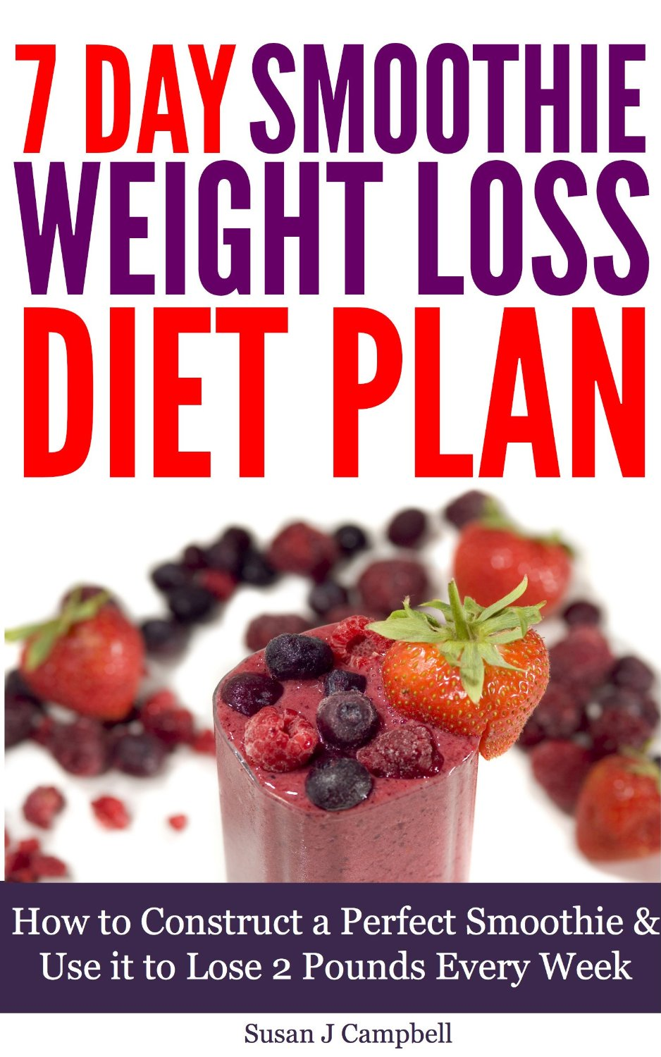 Free Book: 7 Day Smoothie Weight Loss Diet Plan